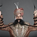 LONGEST MOUSTACHE Ram Singh Chauhan (born on February 12, 1953) from Jaipur, Rajasthan, has been declared the man having longest moustache. The total length of Mr. Ram Singh Chauhan's moustache is 5.65 meters (18 feet 6 inches) as on December 31, 2015. Record Category :The Human Story