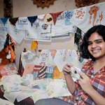LARGEST COLLECTION OF HANDKERCHIEFS Aditi Deshpande (born on November 10, 2000) from Raipur, Chhattisgarh, has largest collection of 7003 embroidered, painted and hand stitched handkerchief as on December 24, 2015. Record Category :Collection