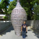 LARGEST POT USING WASTE NEWSPAPER Neelu Patel (born on October 1, 1973) from Ahmedabad, Gujarat, has created waste newspapers into gorgeous items by using newspaper, stick and gum. She has made largest pot, using 5950 waste newspaper and stick to make this pot which measures 16 feet in height and 6 feet diameter as on October 28, 2015. Record Category: Arts & Creativity